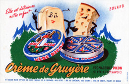 -  BUVARD  74 - SAINT-FELIX - Fromagerie PICON - Crème De Gruyère - 701 - Leche