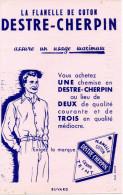 -  BUVARD  Flanelle De Coton DESTRE-CHERPIN - 702 - Textile & Vestimentaire