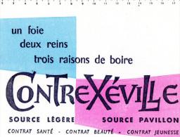 -  BUVARD  Eau CONTREXEVILLE - 703 - Alimentaire