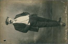 BOXE - OLIVIER, MANAGER DE BOXE (Carte Glacée, Photo De Pied Du Manager En Costume élégant) - Boxe