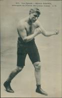 BOXE - Les Sports - Adrien HOGAN, Champion De France Des Poids Lourds, C.M. - Boxe