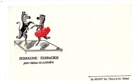 -  BUVARD  Ets RECKITT, CHOISY-LE-ROI - Zébraline  - 707 - Produits Ménagers