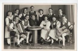 """INNSBRUCK:Tiroler Sänger U. Tänzer """"BLAAS"""" Photocarte - Svizzera"""