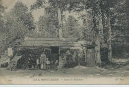 95, Val D´Oise, MONTLIGNON,2295 Habitants  Hutte De Bucheron , Animations , Scan Recto-Verso - Montlignon