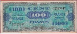 FRANCE - TRESOR Type USA - 100 Francs Série 3 Au Dos FRANCE - Treasury