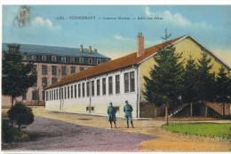 367/88 - CPA Colorisée REMIREMONT - Caserne Marion Et Salle Des Fêtes - Remiremont