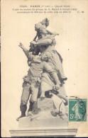 Paris - Quand Même. Copie En Marbre Du Groupe De A. Mercié à Belfort... - Statues