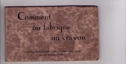 ( BUZET ) ( 47 ), Comment On Fabrique Un Crayon , Carnet Complet 12 Cp ( Ateliers - Scènes Industrie ) - Autres Communes