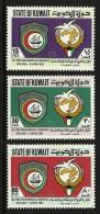 KUWAIT 1984 PAN ARAB MEDICAL CONFERENCE SHIPS SET MNH