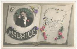Maurice Prenom Carte Fantaisie - Maurice