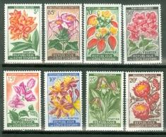 Ivory Coast 1961 Flowers, Orchids MNH** - Lot. 2892 - Côte D'Ivoire (1960-...)