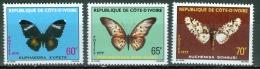 Ivory Coast 1979 Butterflies MNH** - Lot. 2900 - Côte D'Ivoire (1960-...)