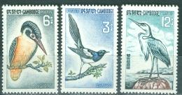 Cambodia 1964 Birds MNH** - Lot. 2909 - Cambodia