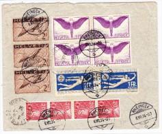 Flugpost R-Brief  6.VII.34 Rheineck Nach Buenos-Aires Transir Genf U. Marseille - Poste Aérienne