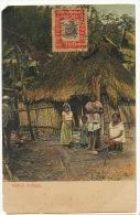 Native Indians Edicion Maduro No 179 Vignette Postcard Club BBC Busy Buster Club Hammond Indiana - Panama