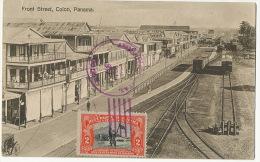Front St Colon Edicion Maduro Train Station To Thorey Sous Charny Beurizot 1917 Luzon - Panama