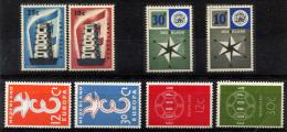 NETHERLANDS - Europa CEPT 1956-59 (4 Sets) MNH (postfrisch) Perfect (VF) - 1949-1980 (Juliana)