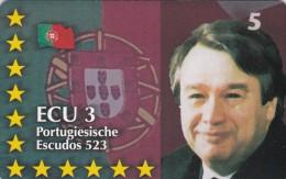 Denmark, P 327, Ecu - Portugal, Statesman, Politician, Flag, Mint, Only 700 Issued, 2 Scans.  Please Read - Danemark