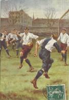 RAPHAEL  TUCK &  SONS  OILETTE  FOOTBALL  INCIDENTS  NO 1746 - Football