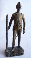 FIGURINE KINDER  METAL SOLDATS FRANCAIS 1 1780 FUSILLIER 80's Laiton - KRIEGER FRANKREICH FÜSILIER - Figurines En Métal