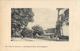 WOKINGHAM - ST PAUL S CHURCH AND READING ROAD - Angleterre