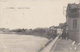 Cpa    13 Bouches Du Rhone Arles  Quai Du Rhone - Arles