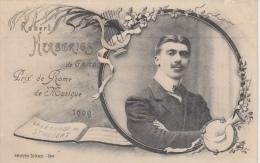 Gent     Robert Herberigs De Gand    Prix De Rome De Musique 1909    Heliotypie DE GRAEVE     Scan 8230 - Gent