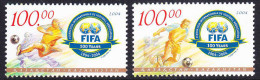 KAZ-    40    KAZAKHSTAN -2004 100 TH FIFA