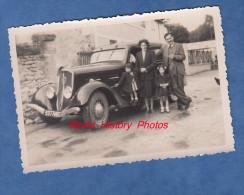 Photo Ancienne - SAINT EPAIN ( Indre Et Loire ) - Belle Automobile à Identifier - 1949 - Cars