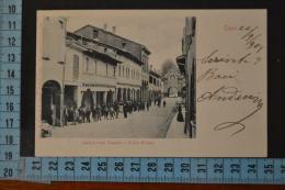 1901 FERRARA CENTO Bellissima Veduta.Animata.Viaggiata - Ferrara