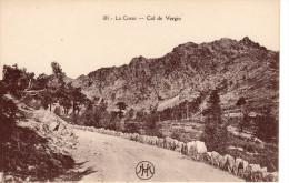 CORSE - L´ancienne Route Du COL DE VERGIO - V. Les Bordures En Granit - Zonder Classificatie