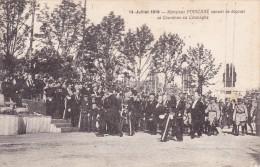 CPA Du 14 Juillet 1919 @ Monsieur Poincaré Venant De Déposer Sa Couronne Au Cénotaphe - Guerre 1914-18