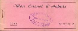 Carnet D´achats - Pub. Reclame - Avec Bons - Pubblicitari