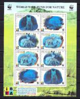 KGZ-    66    KYRGYSZTAN – 1999 ANIMALS HOLOGRAM