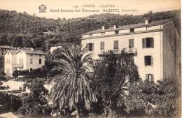 CORSE  -- AJACCIO - HOTEL DES ETRANGERS - Propriétaire BARETTI - Ajaccio