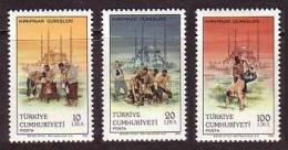 1986 TURKEY KIRKPINAR WRESTLINGS MNH ** - Ongebruikt
