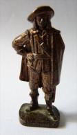 FIGURINE KINDER  METAL SOLDAT MOUSQUETAIRE FRANCAIS  1 RP 80�s Cuivre - KRIEGER Franz�sische Musketiere 1670