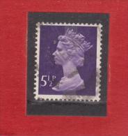 1974 - Serie Courante / Elisabeth II  Mi No 635 Et Y&T No 697 - 1952-.... (Elisabetta II)