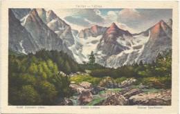Slovakia 1921. Tatry Kotal Zeleneho Plesa Zoldto Katlana - Slovakia