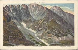 Slovakia 1921. Tatry Lomniczi Csucs Lomnicky Stit - Slovakia