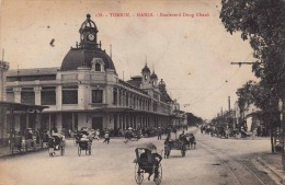 TONKIN 1919 - Hanoi- Boulevard Dong Khanh - Vietnam