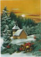 Church In Winter;  3D Color - Non Classificati