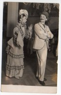 Olga Lenox Germany Spain Barcelona Dance Couple Ballroom Autographed Postcard Original Ca1943  W4-296 - Baile