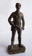 FIGURINE KINDER  METAL   COWBOY II - 3 DOC HOLLIDAY Viel Argent - KRIEGER Berümmte Westmänner I - Figurines En Métal