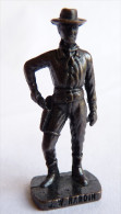 FIGURINE KINDER  METAL   COW BOY II - 5 J. W. HARDIN bronze - KRIEGER Ber�mmte Westm�nner I