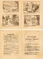 Les Nouvelles Devinettes Illustrées  - 2 Volets - Chasseur - Orgue De Barbarie (VP 775) - Altri