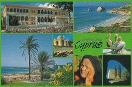 Cyprus Views.    Sent To Denmark.  # 03693 - Cyprus