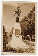 Cartao Postal Brasil Belo Horizonte Monument Soldier Military Real Photo Postcard Ca1940 W4-303 - Belo Horizonte