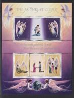 """Christmas Island MNH Scott #111 Souvenir Sheet Of 6 """"The Midnight Clear"""" - Christmas - Christmas Island"""