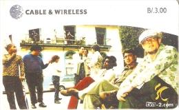 TARJETA DE PANAMA DE CABLE & WIRELESS DE B/3.00 TVN - Panamá